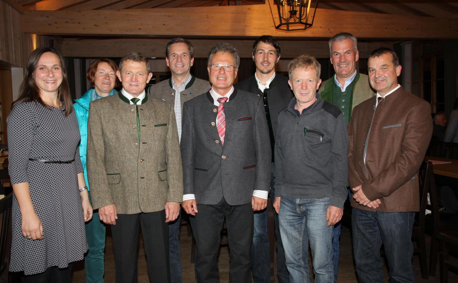 Der Vorstand des LPV-BGL e. V. 2018