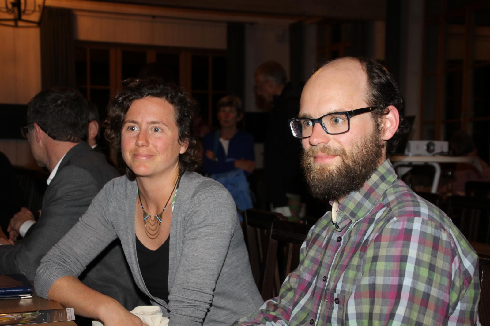 Neue Mitarbeiter im LPV Büro: Carolin und Henrik Klar